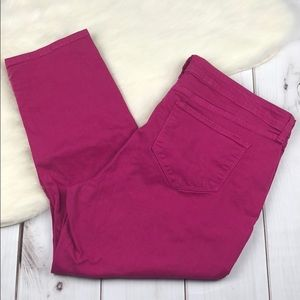 NYDJ IRA Relaxed Ankle Pink Jeans